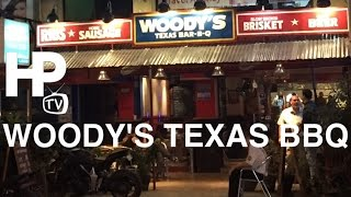 Woody's Texas BBQ Slow Smoked Brisket Ribs Pulled Pork Makati Avenue by HourPhilippines.com