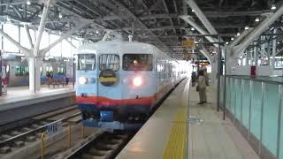 あいの風とやま鉄道 観光列車 一万三千尺物語 富山駅入線