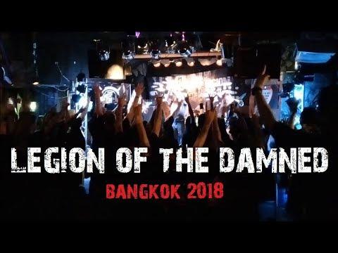 LEGION OF THE DAMNED LIVE IN BANGKOK 2018 (Full Set)