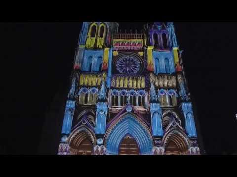 Amiens, la cathédrale en couleurs : un spectacle époustouflant !