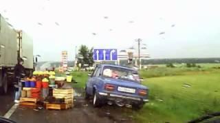 Дорога М4 Анапа - Нижний Новгород на автомобиле. часть 1(, 2014-01-17T10:07:30.000Z)