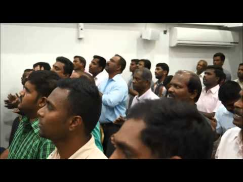 Live Tamil Praise and Worship, April 24, 2015, Word of God Church, Doha Qatar