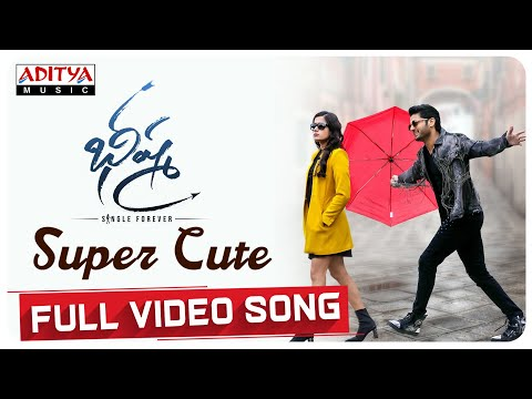 Super Cute Full Video Song | Bheeshma Movie | Nithiin, Rashmika| Venky Kudumula | Mahati Swara Sagar