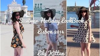SUMMER HOLIDAY LOOKBOOK SEPTEMBER 2014 | A Week in Outfits in Lisbon | Summer Vacation Vlog Thumbnail