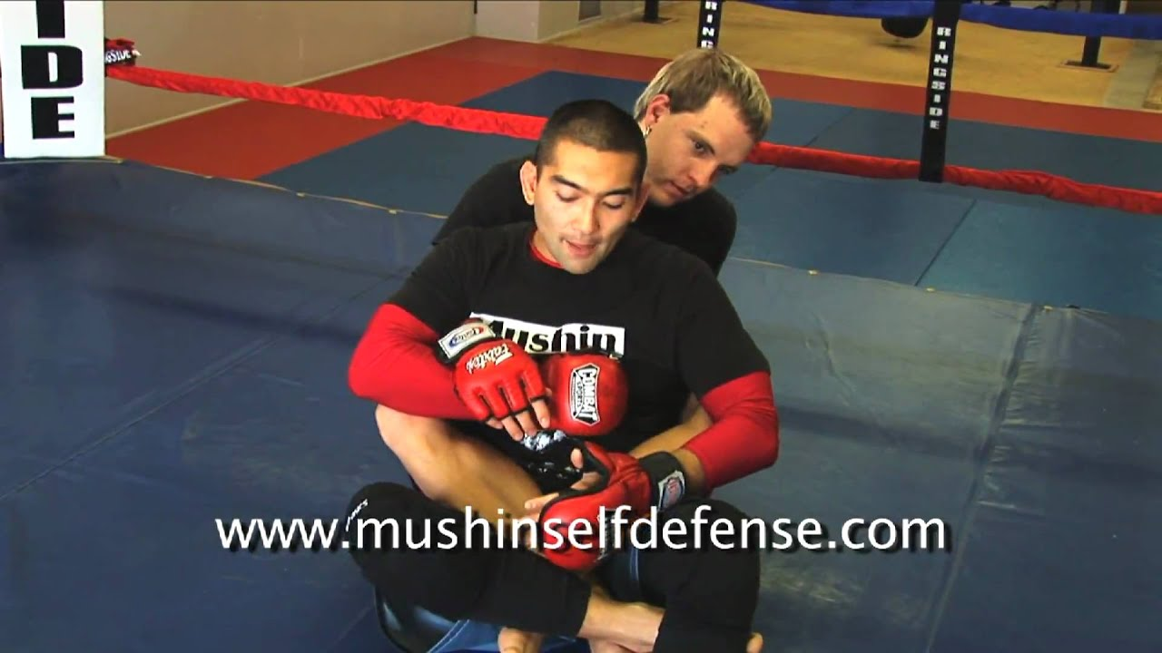 Ankle Lock Counter To the Back Mount