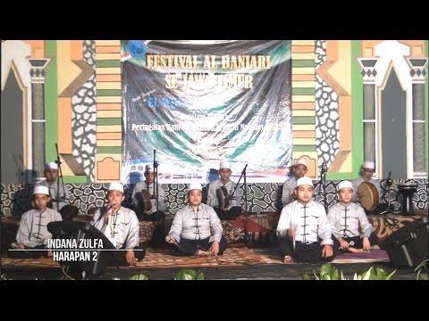 Indana Zulfa - Harapan 2 Festival Al-Banjari se-Jawa Timur di PPSQ Asy-Syadzili 2016