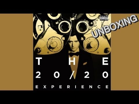 Justin Timberlake - The 20/20 Experience 2 of 2 Deluxe Edition Unboxing [German,Deutsch][Full HD]