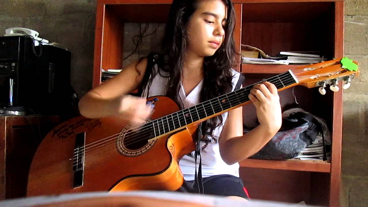 Mi vestido azul floricienta acordes guitarra