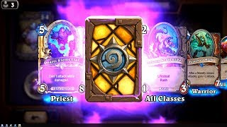 Glitter Moth and Festeroot Hulk - The Witchwood Hearthstone epic and rare card pack opening