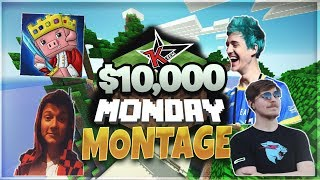 $10,000 Minecraft Monday Hunger Games Tournament Montage