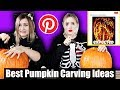 We Tried To Carve Difficult Pinterest Pumpkins