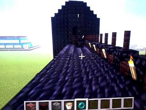 Cancelletto Minecraft : Cancello nero in minecraft youtube