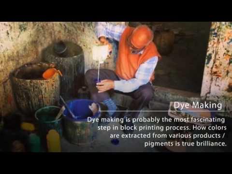 Jaipur Art Factory Process of Hand Block Printing