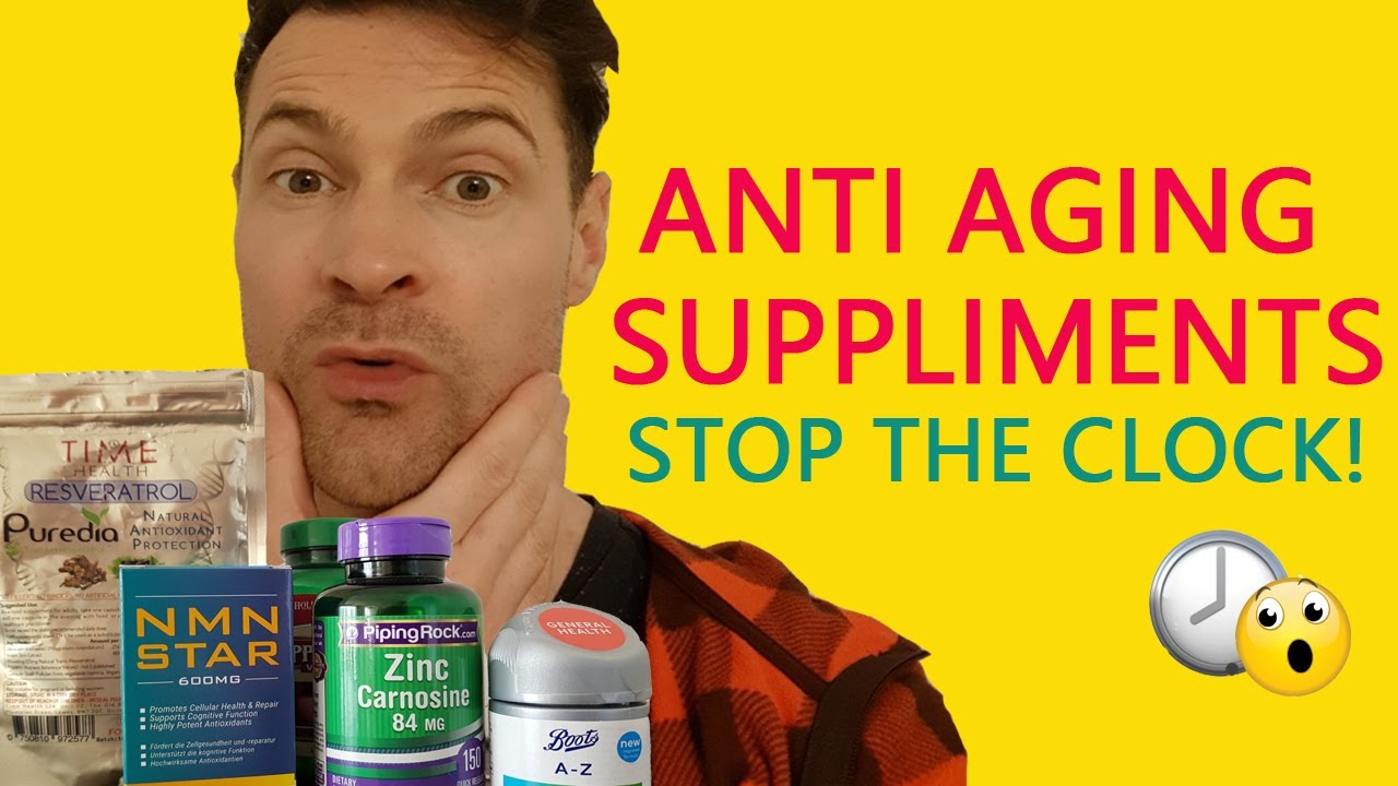 Anti-Aging Supplements. Reverse aging and look younger!