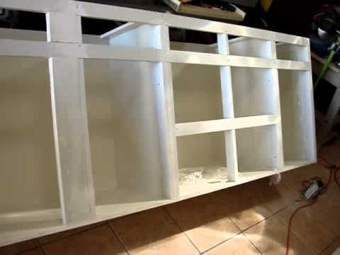 gabinete de pvc como trabajar pvc 787 949 p r parte i youtube. Black Bedroom Furniture Sets. Home Design Ideas
