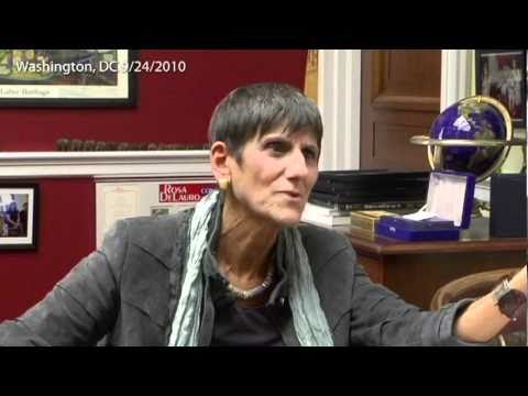 Interview with Rep. Rosa DeLauro about National Infrastructure Development Bank Act