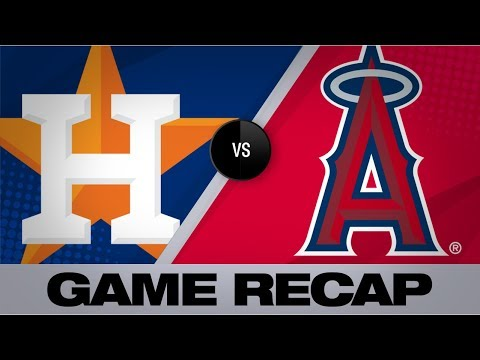 Pujols, Smith propel Angels to 9-6 win   Astros-Angels Game Highlights 7/15/19