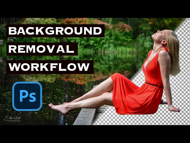 Background Removal and Corrections in Photoshop Workflow | Estee White Photography