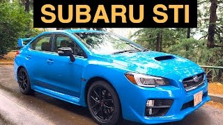2016 Subaru WRX STI Series.HyperBlue - Review & Test Drive