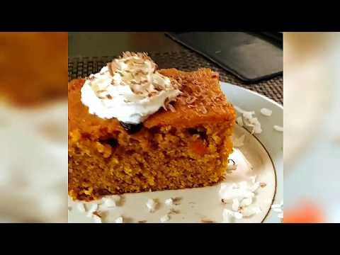 Wifie's VERY DELICIOUS And Easy Carrot Cake