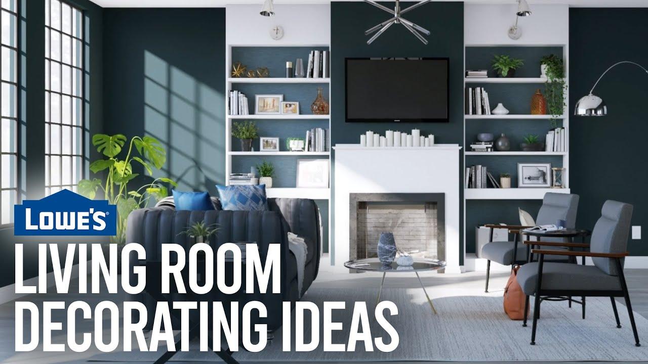 Living Room Decorating Ideas Lowe S Design Basics Youtube