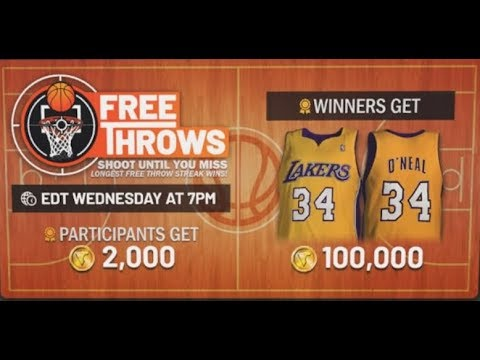 Free throw Event Explained! NBA 2K19 Park Event & Gameplay