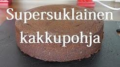 Supersuklainen kakkupohja