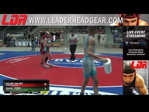 12U 78 Julian Valdez Team IceFighter Vs Isaiah Jones Team Tulsa Wrestling Club