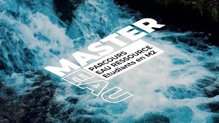 Master Eau Ressource Interview Master 2