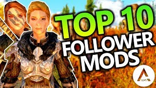 Skyrim Special Edition - Top 10 PlayStation 4 & Xbox 1 Mods (Follower Mods)