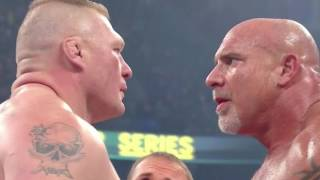 WWE 2016 Survivor series: Goldberg vs Brock Lesnar full match HD