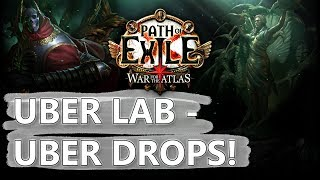 Path of Exile: Uber Lab Drops From Early Abyss League!