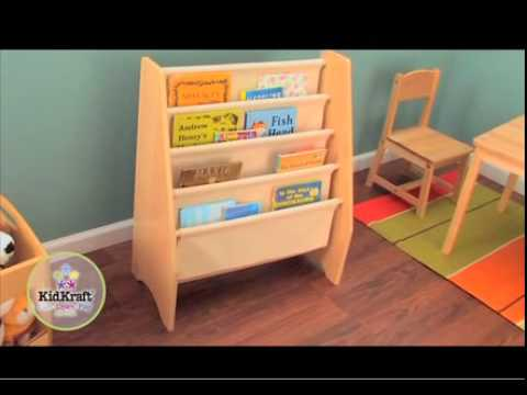 biblioth que compartiments meuble pour chambre d 39 enfant sur youtube. Black Bedroom Furniture Sets. Home Design Ideas
