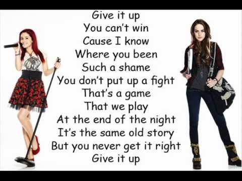Victorious Give It Up Lyrics