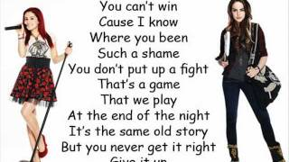 Repeat youtube video victorious give it up lyrics