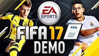 FIFA 17 DEMO - MÓJ PIERWSZY MECZ!