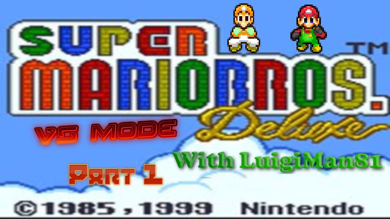 Game boy color super mario bros deluxe - Super Mario Bros Deluxe Vs Mode With Luigiman81 Part 1