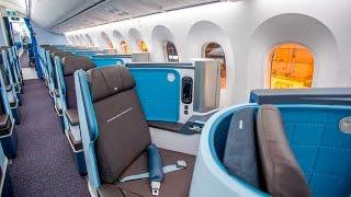 KLM BOEING 787 DREAMLINER    TRIPREPORT   ECONOMY