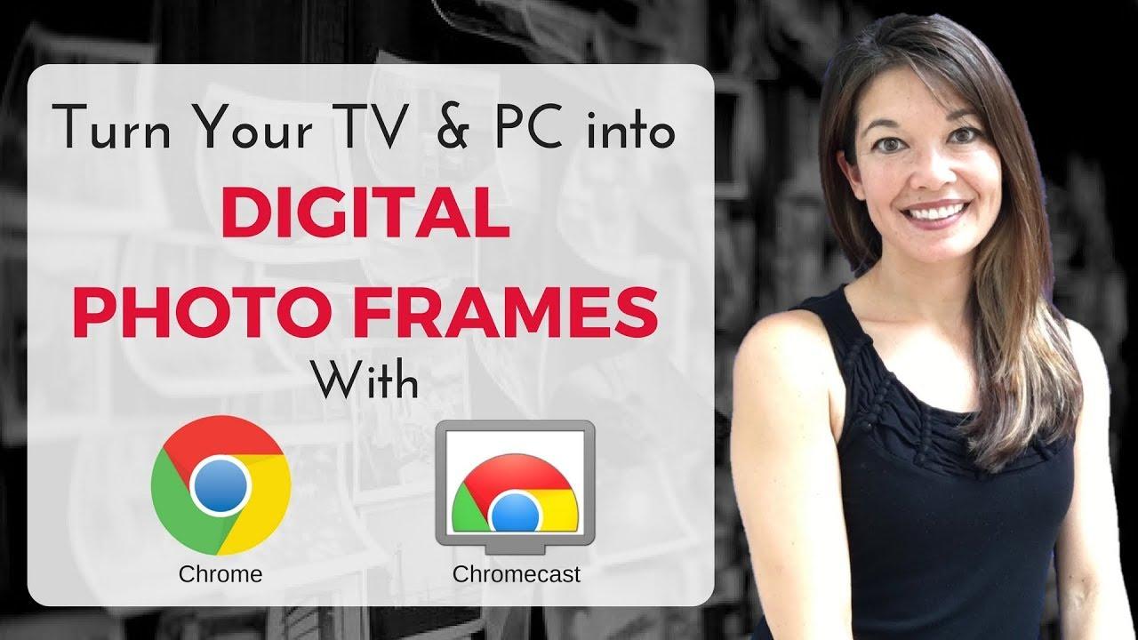 how to put photos onto your chromecast