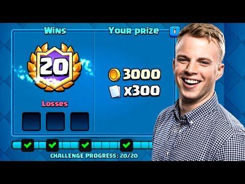 Clash Royale - BEST 20 WIN CHALLENGE DECK!