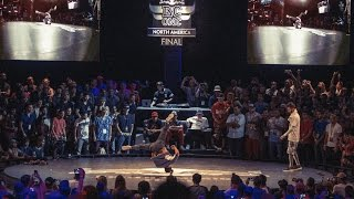 Victor VS Napalm - Quarterfinal - Red Bull BC One North American Final 2015