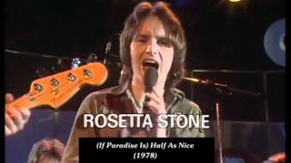 Rosetta Stone - (If Paradise Is) Half As Nice (Amen Corner) (1978) HD 0815007