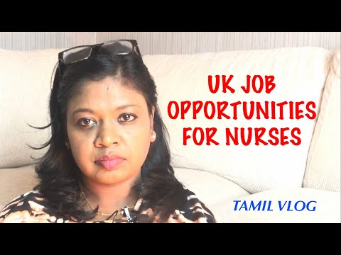 UK Job Opportunities For Nurses/Tamil Vlog
