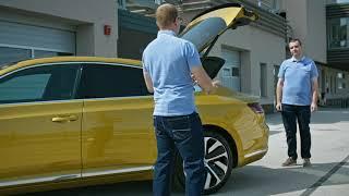 Volkswagen INŠTRUKTOR: Easy Open & Easy Close