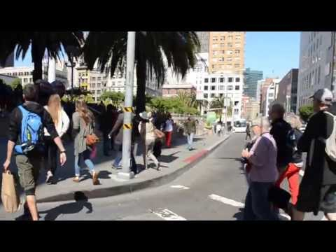A Walk in Downtown San Francisco