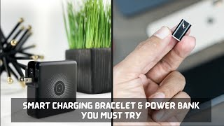 Smart Charging Bracelet & Power Bank You Must Try