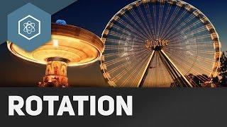 Die Drehbewegung / Rotation - Einführung