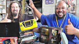 Recent Game Pickups w/ Reggie - 45 MINUTE Super Sized Episode!