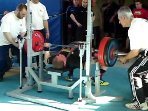 Sven Lange Benchpress 220kg