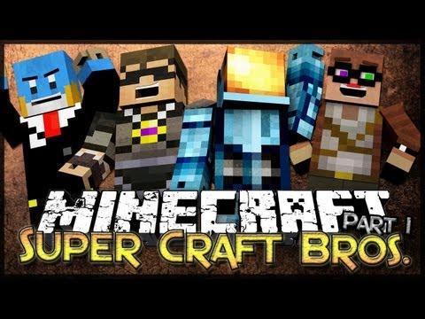 Minecraft: Super Craft Bros. Minigame w/ Friends - Part 1